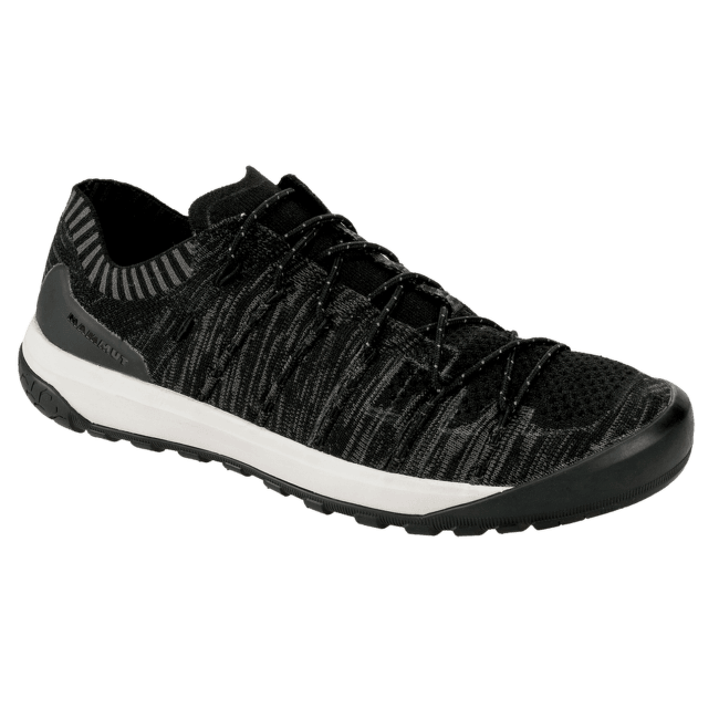 Hueco Knit Low Men Black-titanium