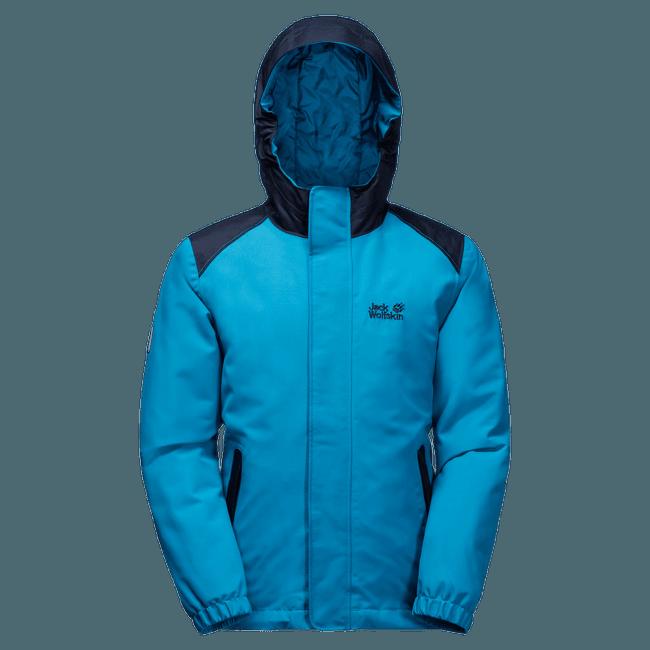 Kajak Falls Jacket Girls dark turquoise 1077