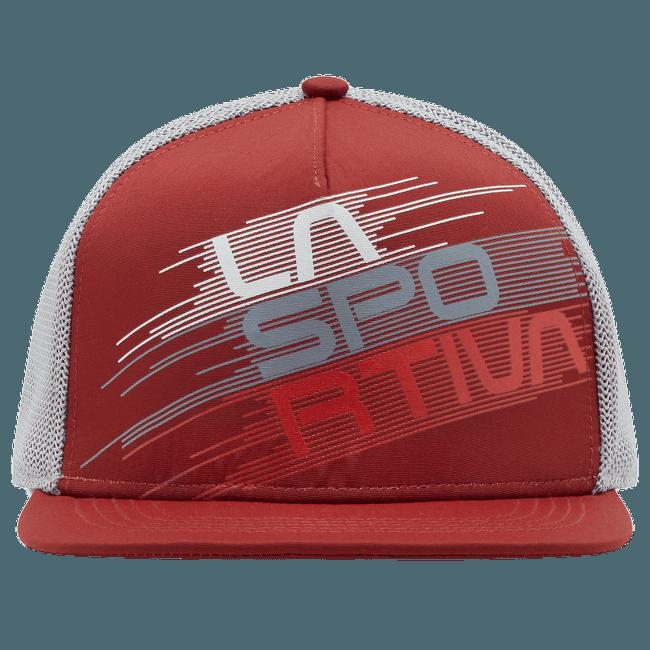 Trucker Hat Stripe Evo Chili/Cloud