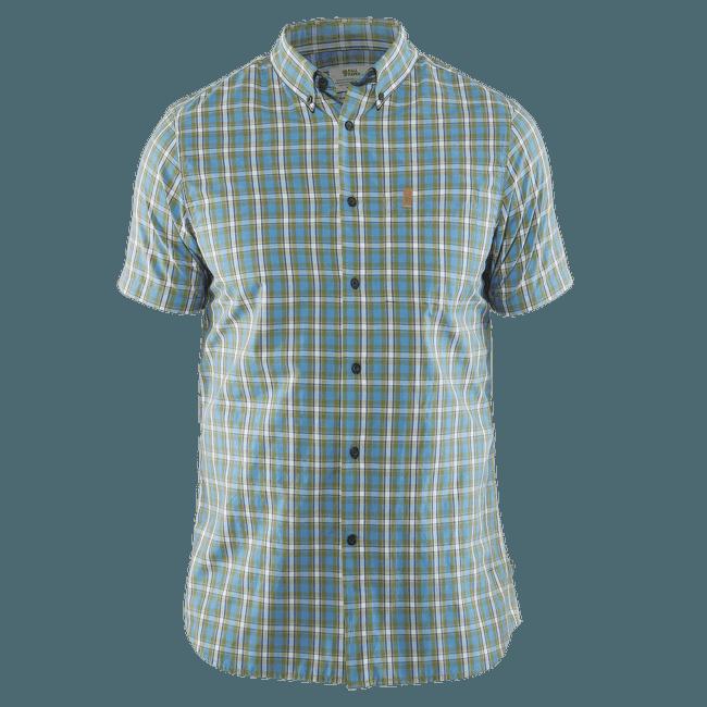 Övik Shirt SS Men Azure Blue