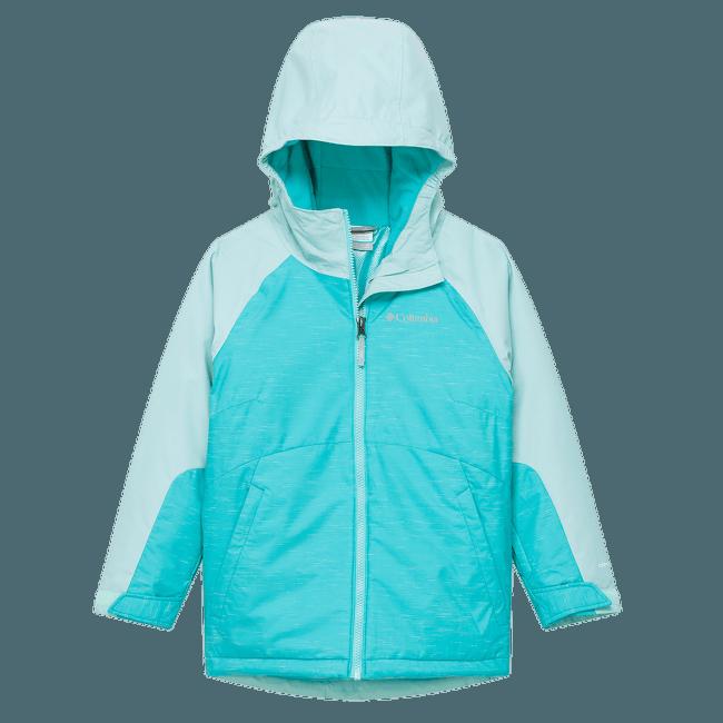 Alpine Action™ II Jacket Girls Geyser, Spray 338