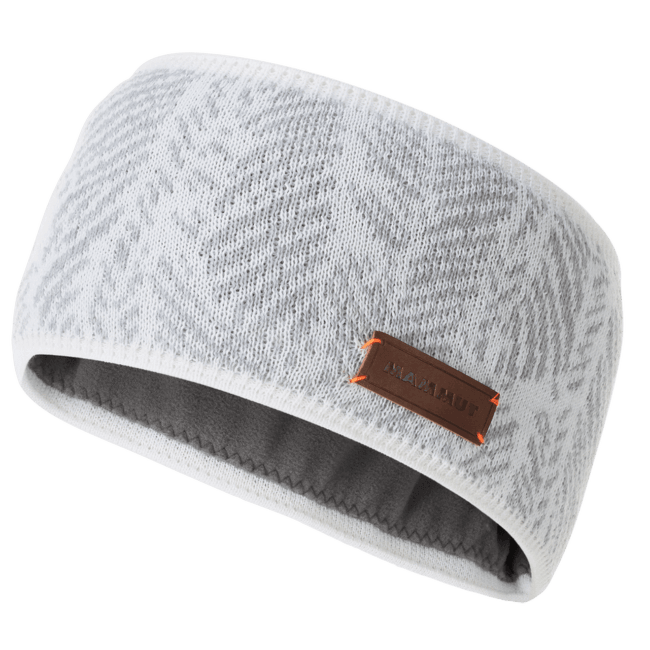 Snow Headband bright white-highway 00349