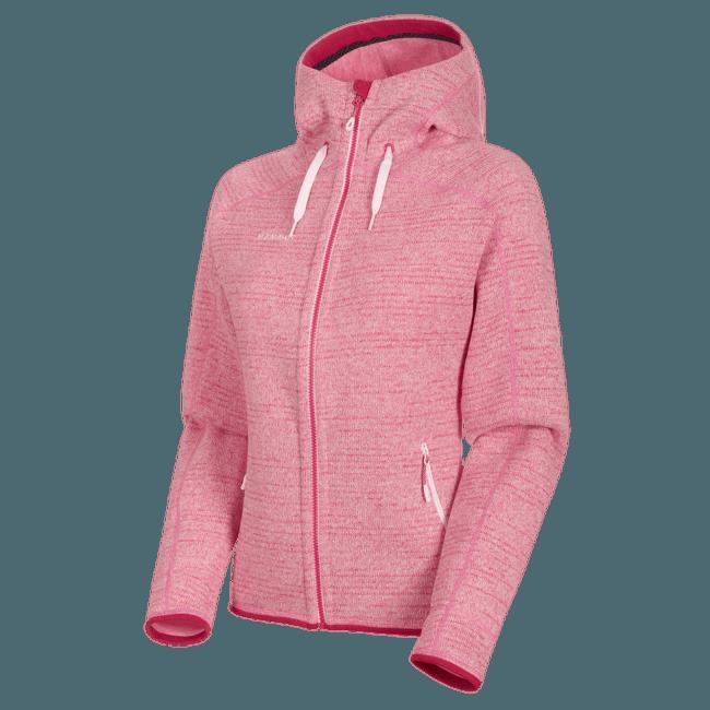 Arctic ML Hooded Jacket Women (1014-15703) blush-dragon fruit melange 3554