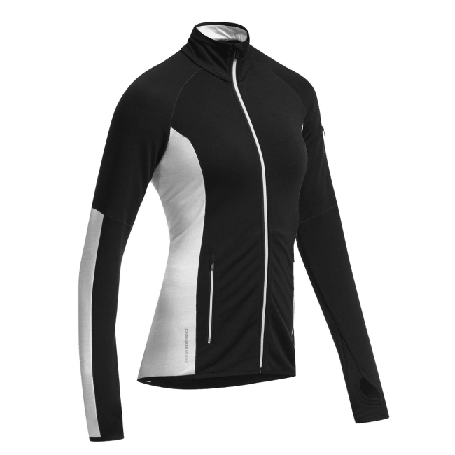 Atom LS Half Zip Women Black/Black/Snow