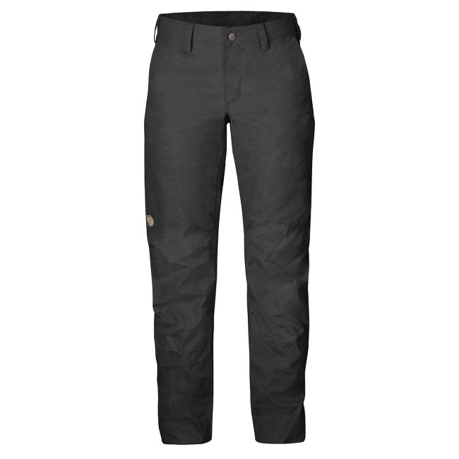 Nilla Trousers Women Dark Grey