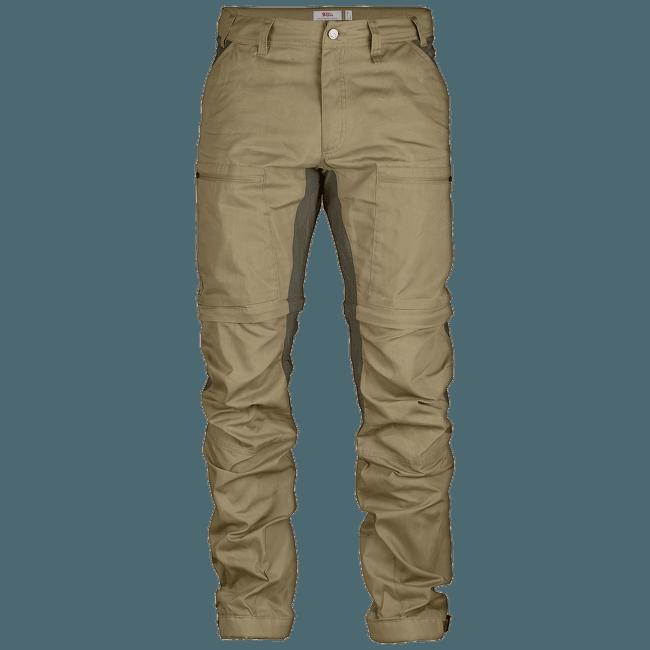 Abisko Lite Trekking Zip-Off Trousers Sand-Tarmac