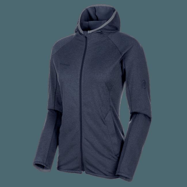 Nair ML Hooded Jacket Women peacoat melange