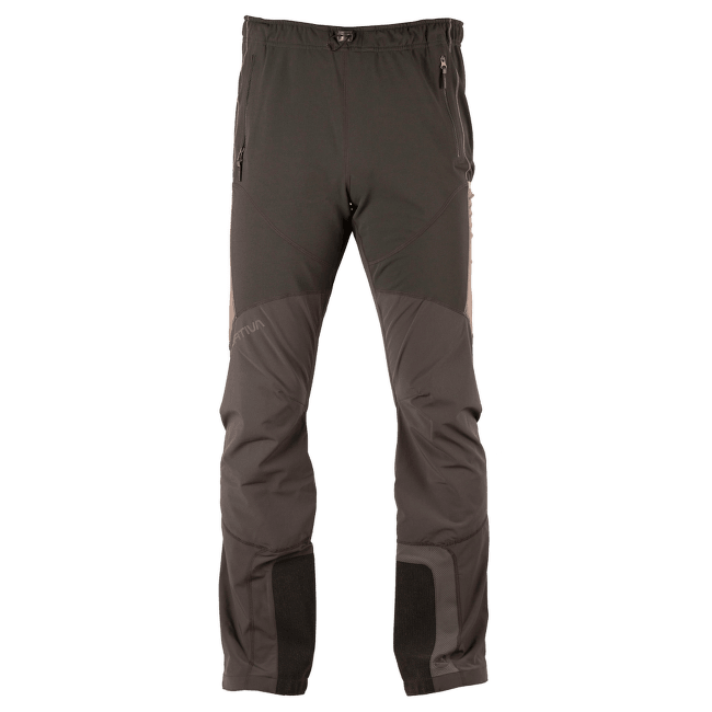 Solid Pant Men Grey