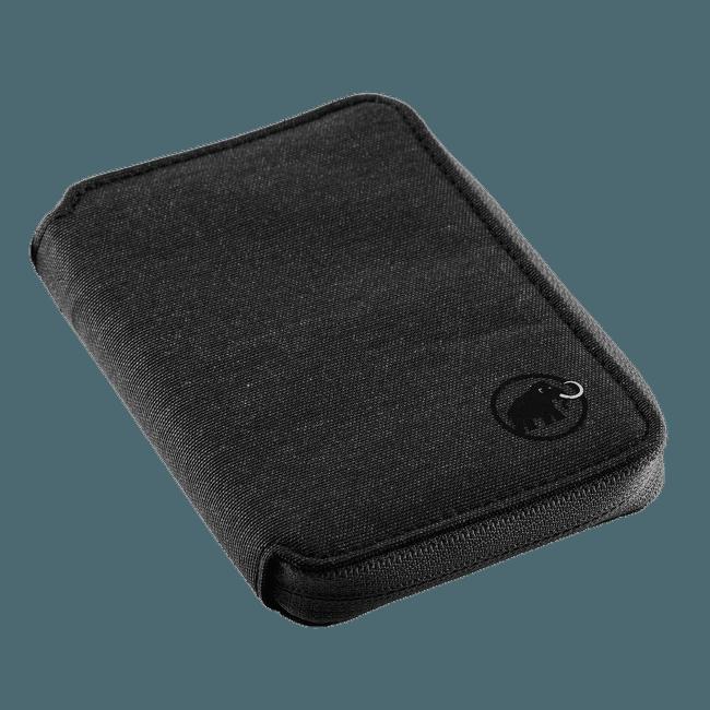 Zip Wallet Mélange black 0001