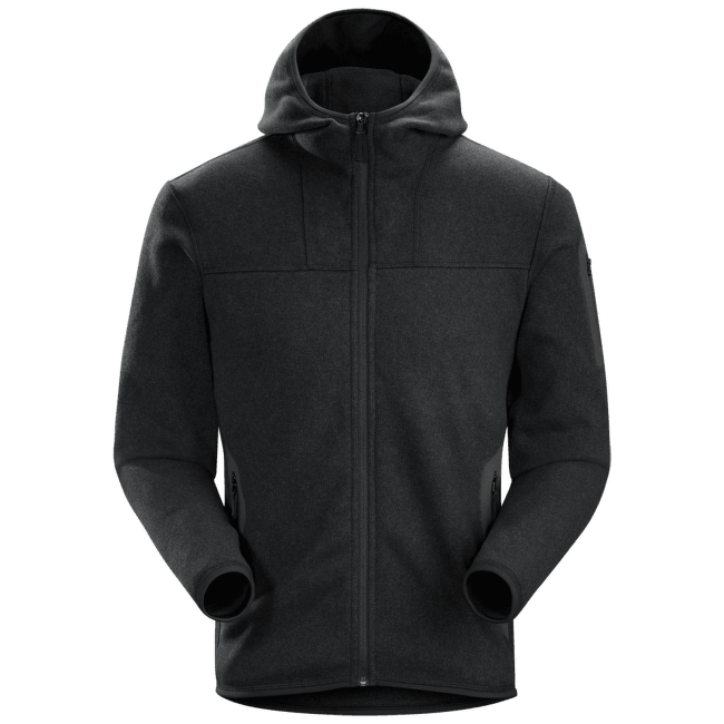 Covert Hoody Men (15376) Black Heather