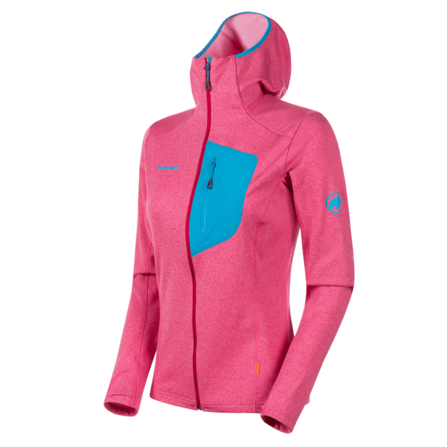 Aconcagua Light ML Hooded Jacket Women (1014-00701) sundown-ocean 6361