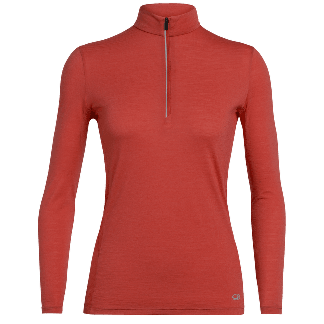 Aplify LS Half Zip Women Fire