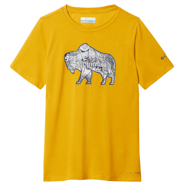 Ranco Lake™ Short Sleeve Tee Boys Yellow 790