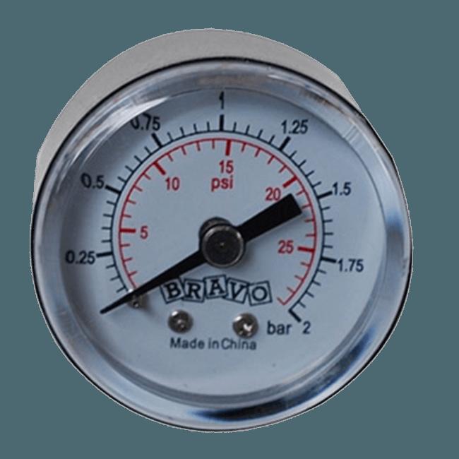 Manometr k pumpě Kiboko Černá