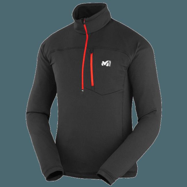 Technostretch Zip Men BLACK - NOIR