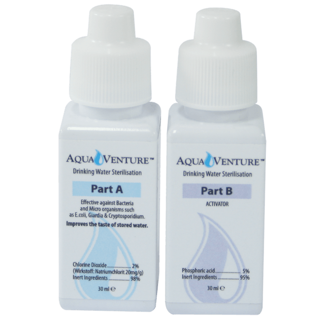 Aquamira™ dezinfekce
