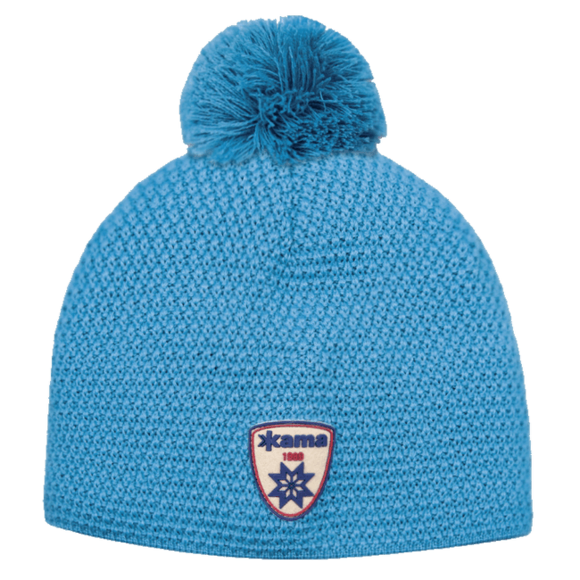 A91 Knitted Hat Cyan