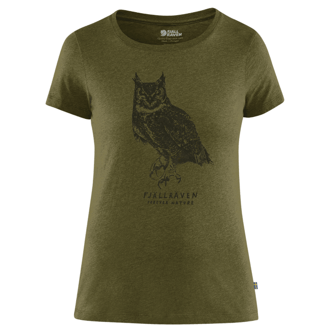 Owl Print T-Shirt Women