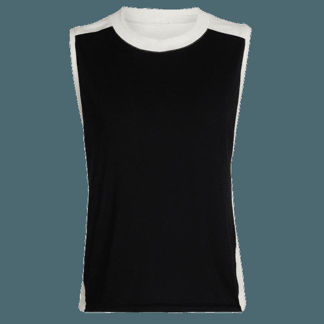 Kinetica Sleeveless Crewe Women Black/Snow