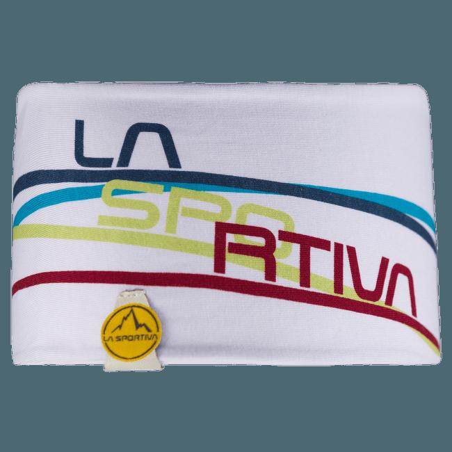 Stripe Headband White