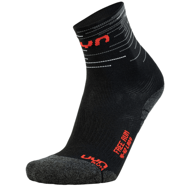 Free Run Socks Women Black/Red