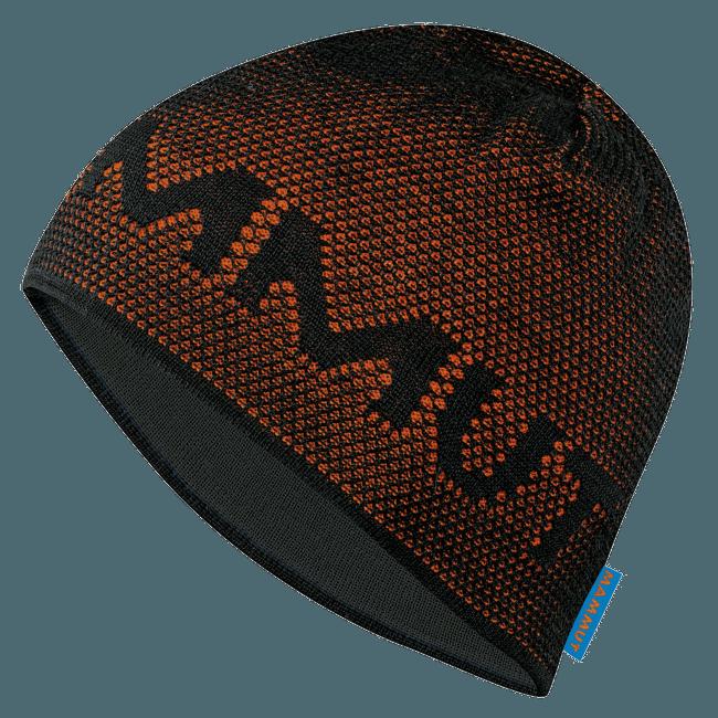 Stollen Beanie black-orange 0043