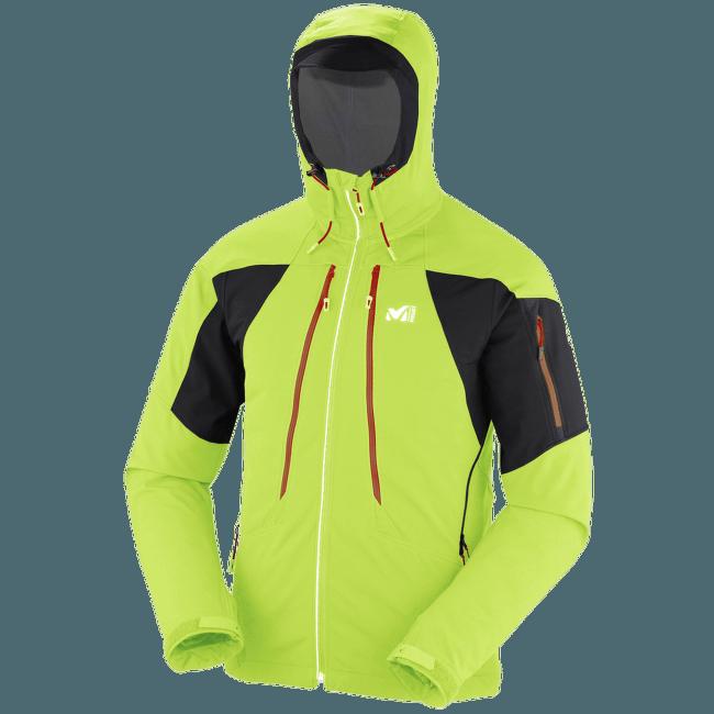 Touring Shield Jacket Men ACID GREEN/NOIR