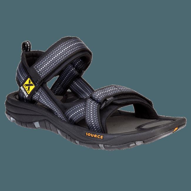 Gobi Sandals Men (102021) Chess Black