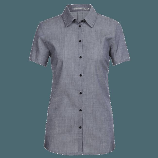 Kala SS Shirt Women (104070) Fathom HTHR/Jet HTHR