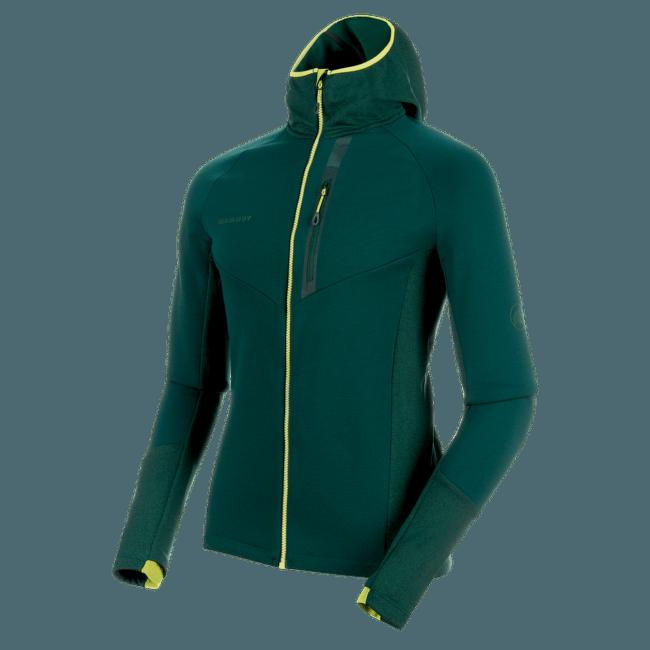 Aconcagua Pro ML Hooded Jacket Men (1014-00310) 40025 dark teal-dark teal melange