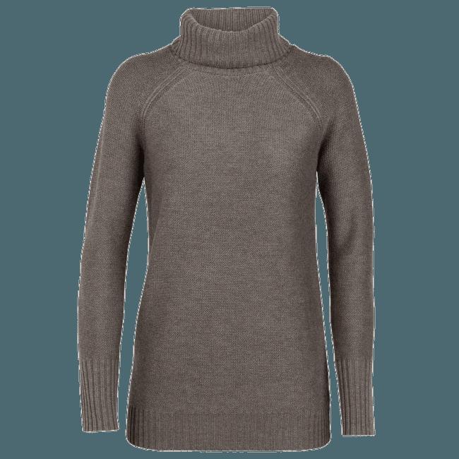 Waypoint Roll Neck Sweater Women TOAST HTHR