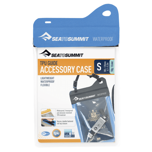 TPU Accessory Case Small Blue
