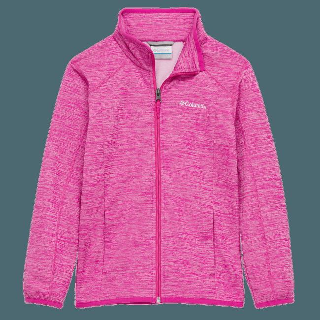 Wilderness Way™  Fleece Jacket Girls Pink Ice 695