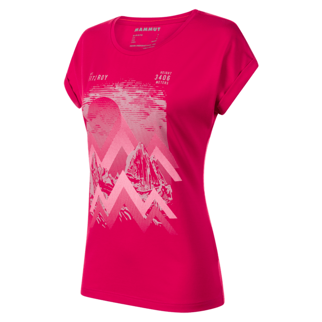 Mountain T-Shirt Women (1017-00962) sundown 6358