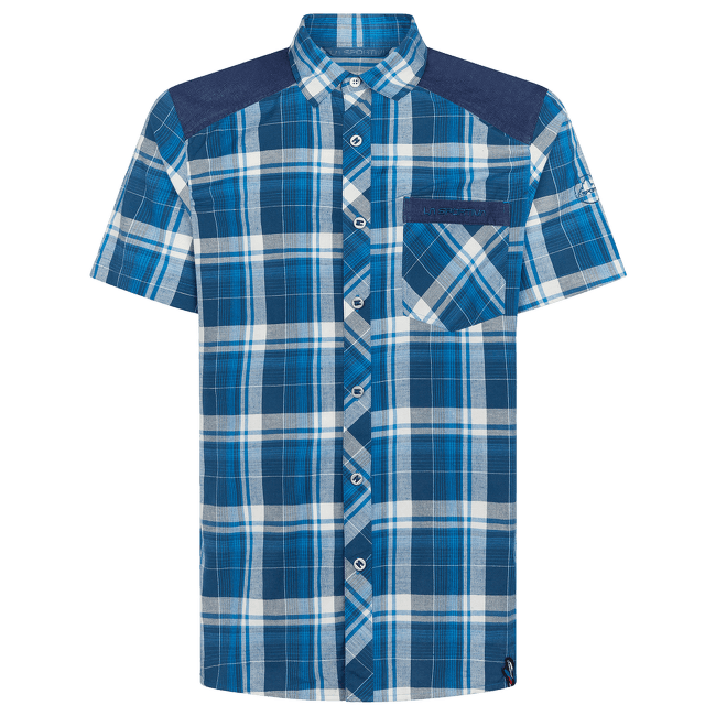 Longitude Shirt Men Opal/Neptune