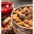 Jelení ragú s bramborovými špalíčky