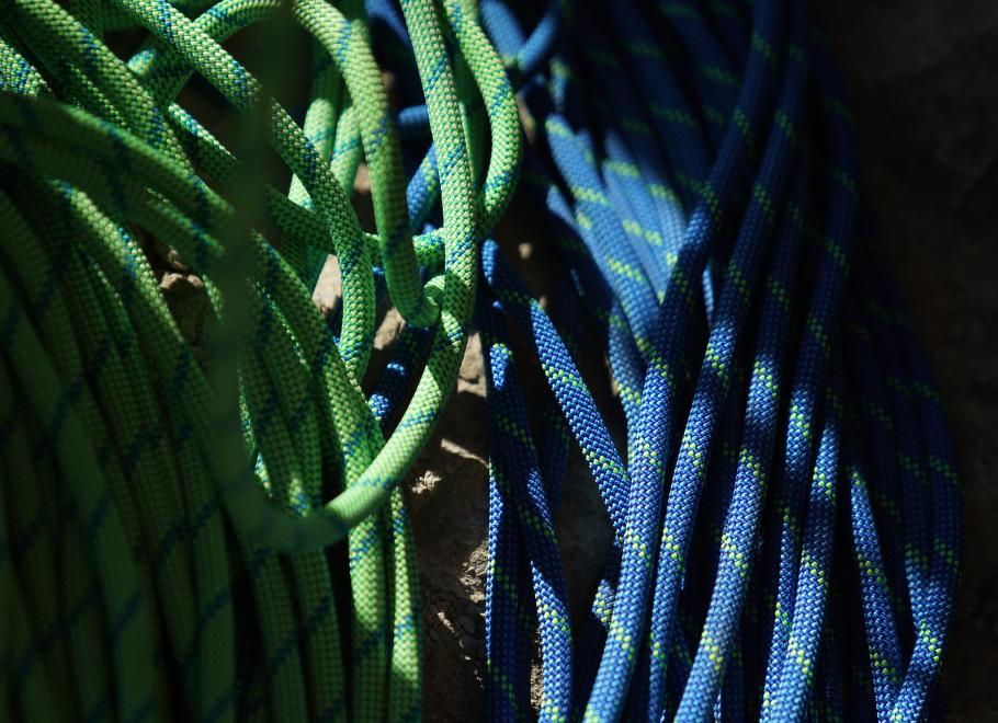 Jak vybrat horolezecké lano