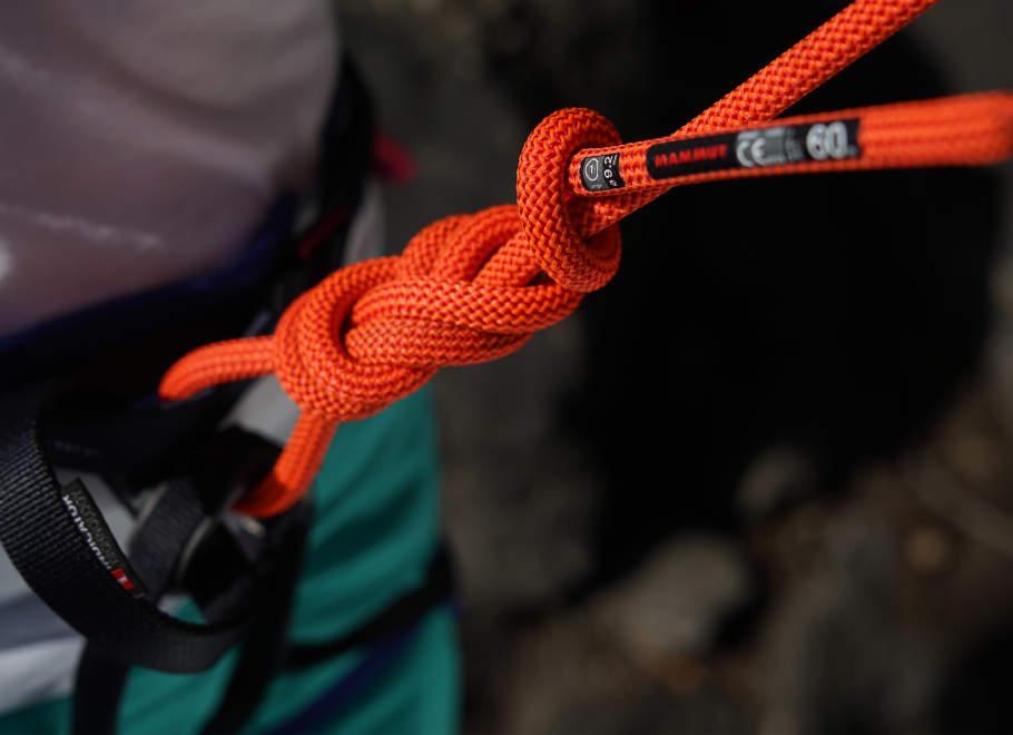 Jak uvázat správný horolezecký uzel