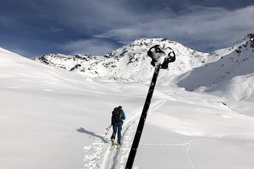 skitouring Alpy
