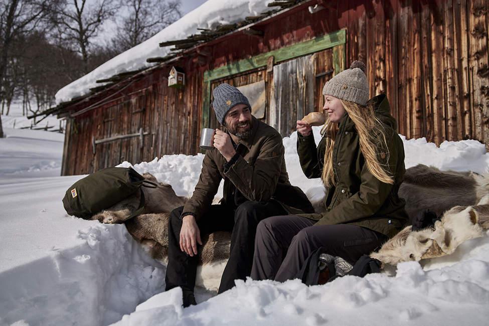 zimní piknik