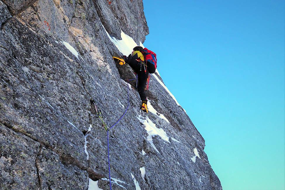 lezení Alpy