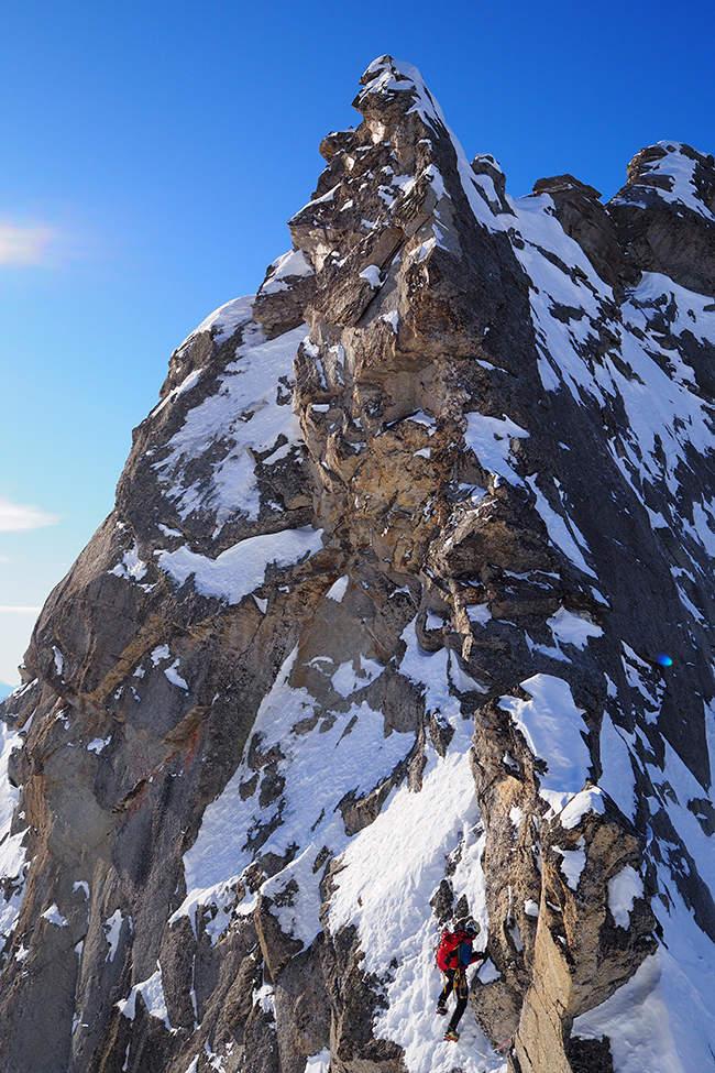Alpy hřeben