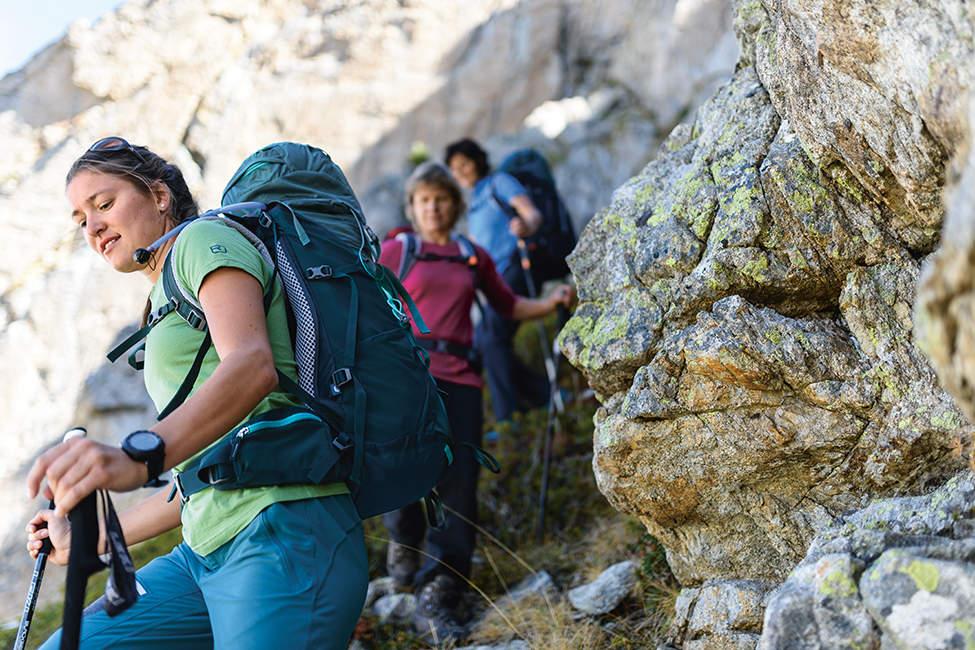 treking ve skalách