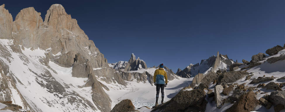 Pod Fitz Royem, Patagonie