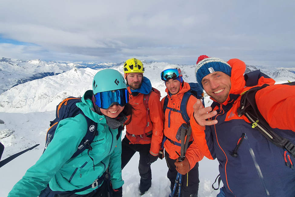 Alpy kamarádi vrcholovka