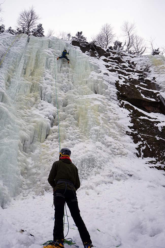 5_lezení v ledu Krkonoše