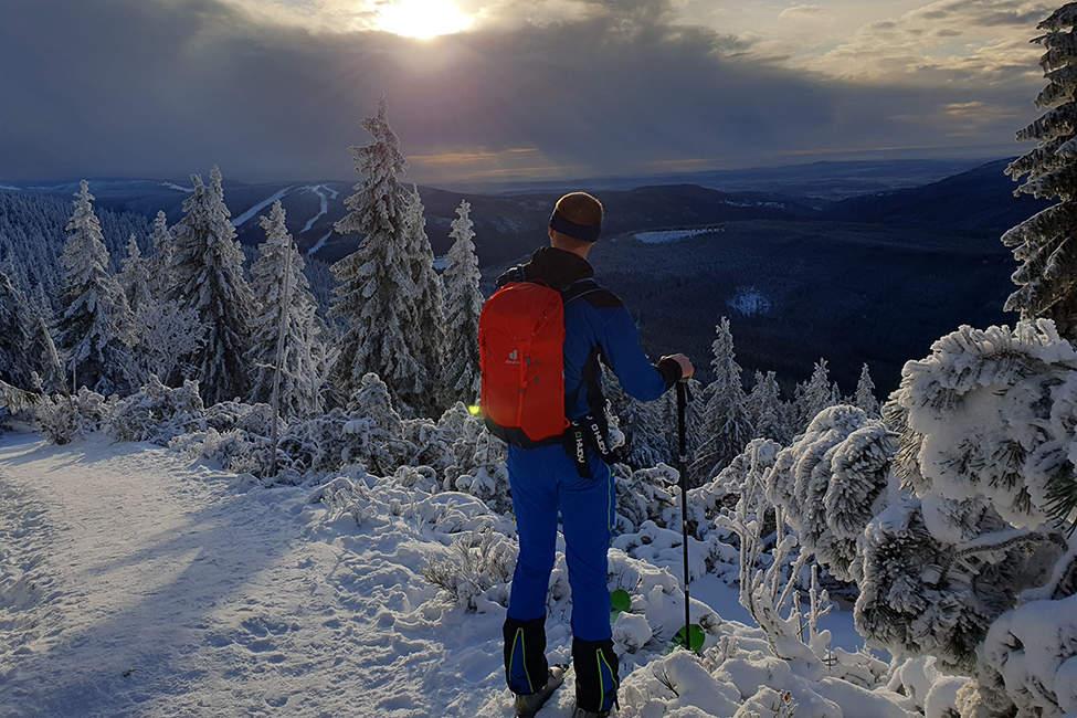 batoh deuter skialpinismus