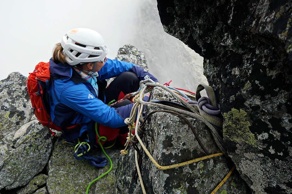 Horolezkyně Kežmarský štít