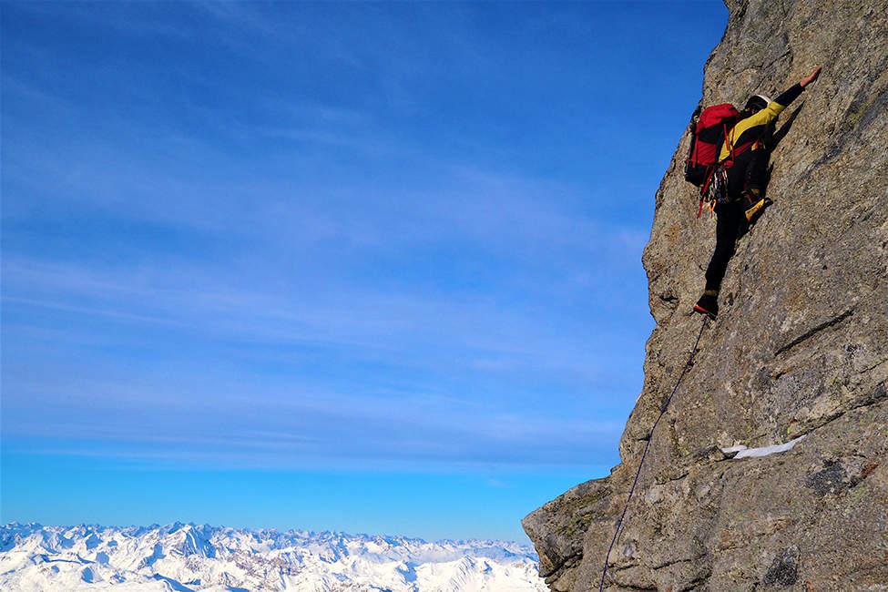 Alpy lezení