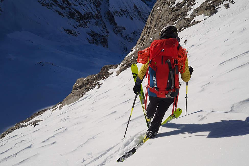 skialpinismus před sjezdem